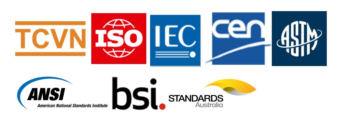 Danh mục tiêu chuẩn quốc tế công bố tháng 1 năm 2021